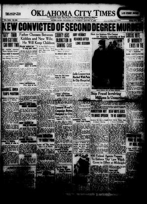 Primary view of object titled 'Oklahoma City Times (Oklahoma City, Okla.), Vol. 31, No. 236, Ed. 1 Thursday, January 15, 1920'.