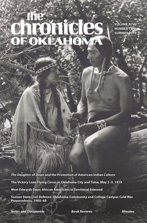 Primary view of Chronicles of Oklahoma, Volume 97, Number 2, Summer 2019