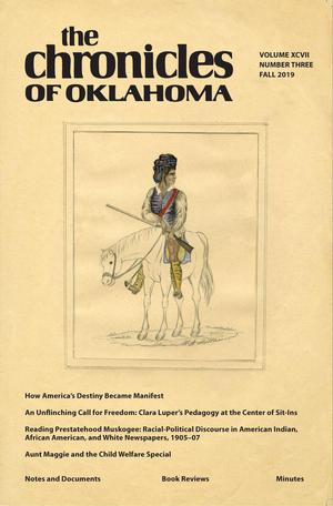 Primary view of Chronicles of Oklahoma, Volume 97, Number 3, Fall 2019