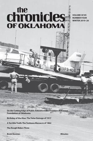 Primary view of Chronicles of Oklahoma, Volume 97, Number 4, Winter 2019-20