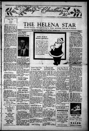 Primary view of object titled 'The Helena Star (Helena, Okla.), Vol. 47, No. 9, Ed. 1 Thursday, December 20, 1956'.