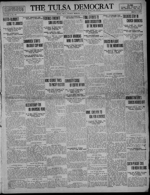 Primary view of object titled 'The Tulsa Democrat (Tulsa, Okla.), Vol. 10, No. 281, Ed. 1 Sunday, July 19, 1914'.