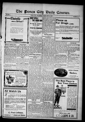 Primary view of object titled 'The Ponca City Daily Courier. (Ponca City, Okla.), Vol. 9, No. 193, Ed. 1 Tuesday, May 29, 1906'.