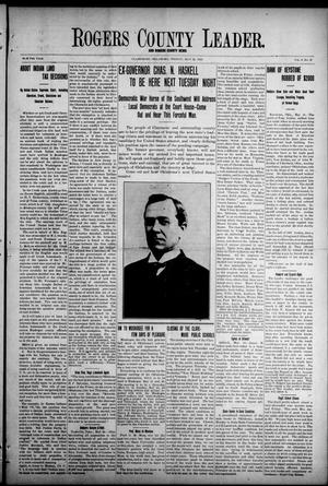 Primary view of object titled 'Rogers County Leader. And Rogers County News (Claremore, Okla.), Vol. 4, No. 12, Ed. 1 Friday, May 24, 1912'.
