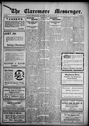 Primary view of The Claremore Messenger. (Claremore, Indian Terr.), Vol. 13, No. 29, Ed. 1 Friday, July 12, 1907