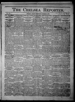 Primary view of object titled 'The Chelsea Reporter. (Chelsea, Indian Terr.), Vol. 7, No. 24, Ed. 1 Saturday, October 19, 1901'.