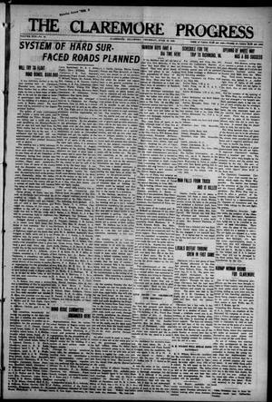 Primary view of The Claremore Progress (Claremore, Okla.), Vol. 30, No. 18, Ed. 1 Thursday, June 15, 1922