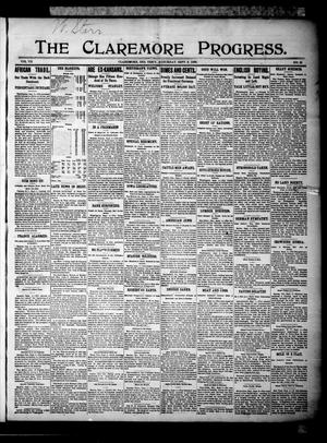 Primary view of The Claremore Progress. (Claremore, Indian Terr.), Vol. 7, No. 31, Ed. 1 Saturday, September 9, 1899