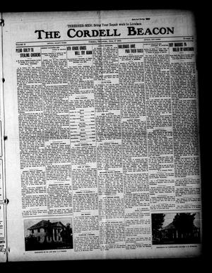 Primary view of object titled 'The Cordell Beacon (Cordell, Okla.), Vol. 18, No. 45, Ed. 1 Thursday, June 17, 1915'.