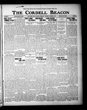 Primary view of object titled 'The Cordell Beacon (Cordell, Okla.), Vol. 19, No. 16, Ed. 1 Thursday, November 11, 1915'.