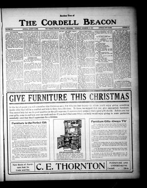 Primary view of object titled 'The Cordell Beacon (Cordell, Okla.), Vol. 19, No. 22, Ed. 2 Thursday, December 16, 1915'.