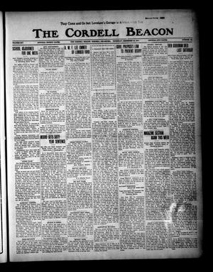 Primary view of object titled 'The Cordell Beacon (Cordell, Okla.), Vol. 19, No. 23, Ed. 1 Thursday, December 23, 1915'.