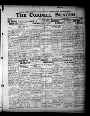 Primary view of object titled 'The Cordell Beacon (Cordell, Okla.), Vol. 18, No. 33, Ed. 1 Thursday, March 18, 1915'.