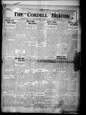 Primary view of object titled 'The Cordell Beacon (Cordell, Okla.), Vol. 20, No. 25, Ed. 1 Thursday, January 4, 1917'.