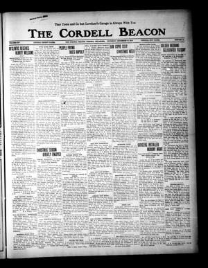 Primary view of object titled 'The Cordell Beacon (Cordell, Okla.), Vol. 19, No. 24, Ed. 1 Thursday, December 30, 1915'.