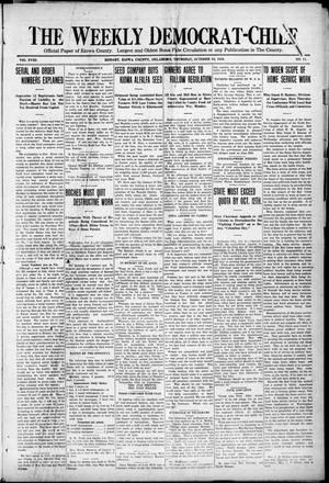 Primary view of object titled 'The Weekly Democrat-Chief (Hobart, Okla.), Vol. 18, No. 11, Ed. 1 Thursday, October 10, 1918'.