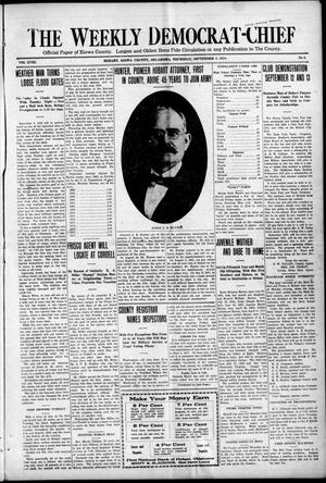 Primary view of object titled 'The Weekly Democrat-Chief (Hobart, Okla.), Vol. 18, No. 6, Ed. 1 Thursday, September 5, 1918'.