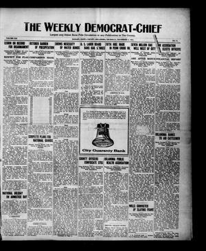 Primary view of The Weekly Democrat-Chief (Hobart, Okla.), Vol. 21, No. 14, Ed. 1 Thursday, November 3, 1921