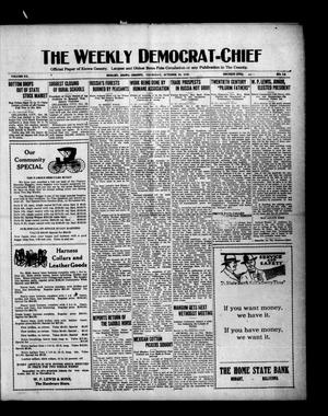 Primary view of object titled 'The Weekly Democrat-Chief (Hobart, Okla.), Vol. 20, No. 14, Ed. 1 Thursday, October 28, 1920'.
