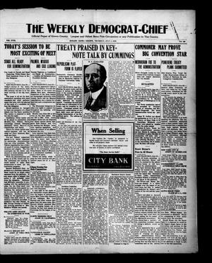 Primary view of object titled 'The Weekly Democrat-Chief (Hobart, Okla.), Vol. 18, No. 49, Ed. 1 Thursday, July 1, 1920'.