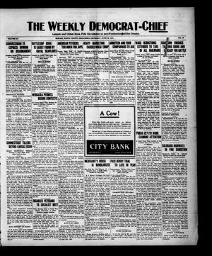 Primary view of object titled 'The Weekly Democrat-Chief (Hobart, Okla.), Vol. 20, No. 49, Ed. 1 Thursday, June 30, 1921'.