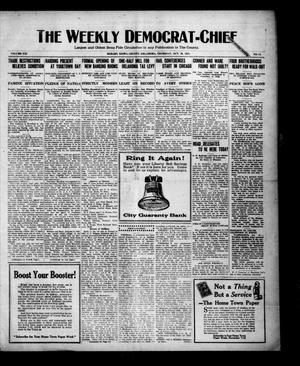 Primary view of object titled 'The Weekly Democrat-Chief (Hobart, Okla.), Vol. 21, No. 12, Ed. 1 Thursday, October 20, 1921'.