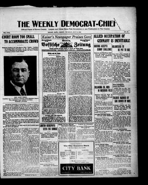 Primary view of object titled 'The Weekly Democrat-Chief (Hobart, Okla.), Vol. 18, No. 51, Ed. 1 Thursday, July 15, 1920'.