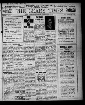 The Geary Times (Geary, Okla.), Vol. 5, No. 44, Ed. 1 Thursday, September 19, 1918
