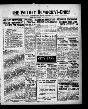 Primary view of object titled 'The Weekly Democrat-Chief (Hobart, Okla.), Vol. 20, No. 7, Ed. 1 Thursday, September 9, 1920'.