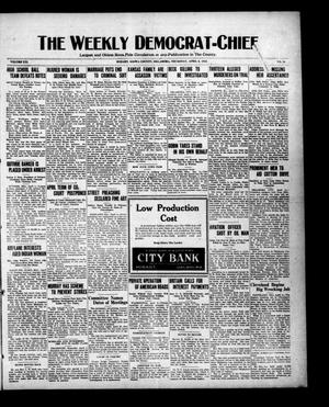 Primary view of object titled 'The Weekly Democrat-Chief (Hobart, Okla.), Vol. 21, No. 36, Ed. 1 Thursday, April 6, 1922'.