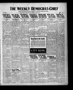 Primary view of object titled 'The Weekly Democrat-Chief (Hobart, Okla.), Vol. 21, No. 1, Ed. 1 Thursday, August 4, 1921'.