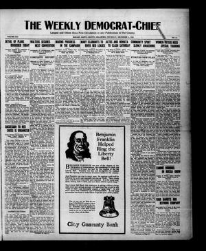 Primary view of object titled 'The Weekly Democrat-Chief (Hobart, Okla.), Vol. 21, No. 18, Ed. 1 Thursday, December 1, 1921'.