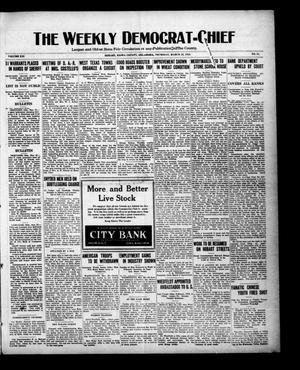 Primary view of object titled 'The Weekly Democrat-Chief (Hobart, Okla.), Vol. 21, No. 34, Ed. 1 Thursday, March 23, 1922'.