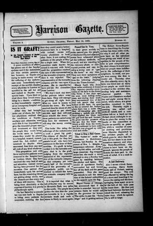 Primary view of object titled 'Harrison Gazette. (Gotebo, Okla.), Vol. 4, No. 41, Ed. 1 Friday, May 19, 1905'.