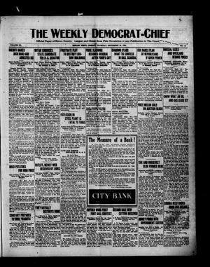 Primary view of object titled 'The Weekly Democrat-Chief (Hobart, Okla.), Vol. 20, No. 10, Ed. 1 Thursday, September 30, 1920'.