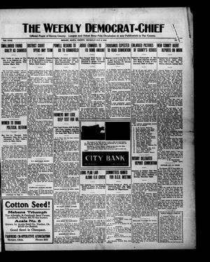 Primary view of object titled 'The Weekly Democrat-Chief (Hobart, Okla.), Vol. 18, No. 41, Ed. 1 Thursday, May 6, 1920'.