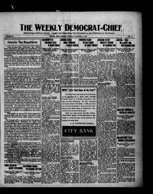 Primary view of object titled 'The Weekly Democrat-Chief (Hobart, Okla.), Vol. 20, No. 12, Ed. 2 Thursday, October 14, 1920'.