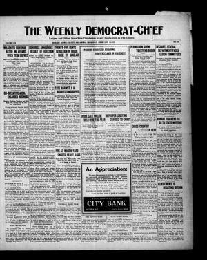 Primary view of object titled 'The Weekly Democrat-Chief (Hobart, Okla.), Vol. 20, No. 29, Ed. 1 Thursday, February 10, 1921'.
