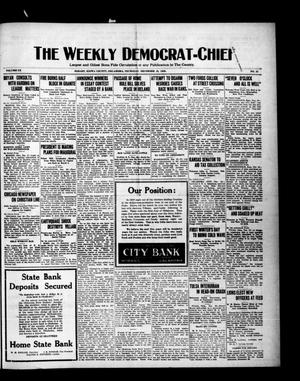 Primary view of object titled 'The Weekly Democrat-Chief (Hobart, Okla.), Vol. 20, No. 22, Ed. 1 Thursday, December 23, 1920'.