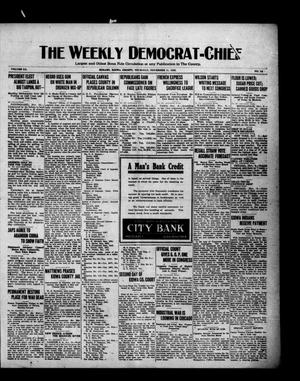 Primary view of object titled 'The Weekly Democrat-Chief (Hobart, Okla.), Vol. 20, No. 16, Ed. 1 Thursday, November 11, 1920'.