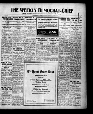 Primary view of object titled 'The Weekly Democrat-Chief (Hobart, Okla.), Vol. 21, No. 11, Ed. 1 Thursday, October 13, 1921'.