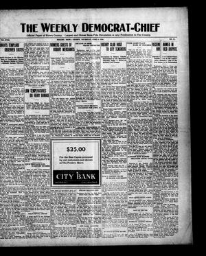 Primary view of object titled 'The Weekly Democrat-Chief (Hobart, Okla.), Vol. 18, No. 37, Ed. 1 Thursday, April 8, 1920'.