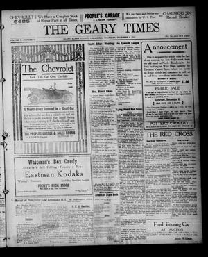 Primary view of object titled 'The Geary Times (Geary, Okla.), Vol. 5, No. 6, Ed. 1 Thursday, December 6, 1917'.