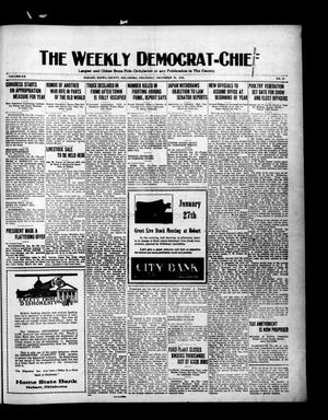 Primary view of object titled 'The Weekly Democrat-Chief (Hobart, Okla.), Vol. 20, No. 23, Ed. 1 Thursday, December 30, 1920'.