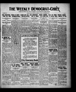 Primary view of object titled 'The Weekly Democrat-Chief (Hobart, Okla.), Vol. 21, No. 21, Ed. 1 Thursday, December 22, 1921'.