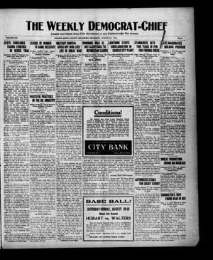 Primary view of object titled 'The Weekly Democrat-Chief (Hobart, Okla.), Vol. 21, No. 3, Ed. 1 Thursday, August 18, 1921'.