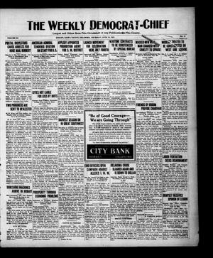 Primary view of object titled 'The Weekly Democrat-Chief (Hobart, Okla.), Vol. 20, No. 47, Ed. 1 Thursday, June 16, 1921'.