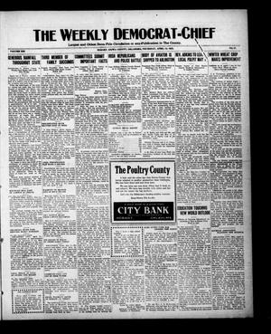 Primary view of object titled 'The Weekly Democrat-Chief (Hobart, Okla.), Vol. 21, No. 37, Ed. 1 Thursday, April 13, 1922'.