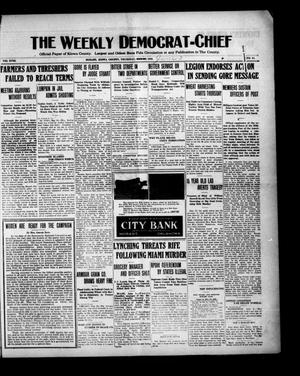 Primary view of object titled 'The Weekly Democrat-Chief (Hobart, Okla.), Vol. 18, No. 45, Ed. 1 Thursday, June 3, 1920'.