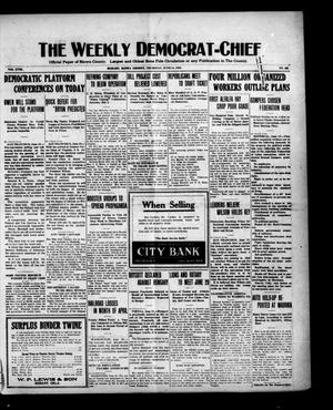 Primary view of object titled 'The Weekly Democrat-Chief (Hobart, Okla.), Vol. 18, No. 48, Ed. 1 Thursday, June 24, 1920'.